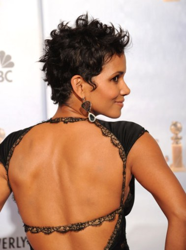 Halle Berry Golden Globe Awards 2010 Getty Images