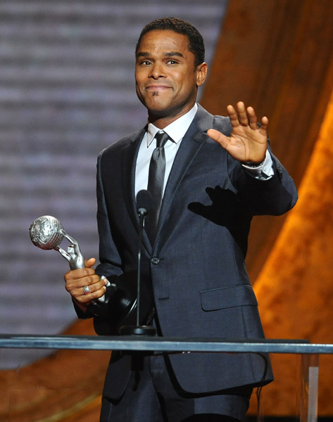 Maxwell at 41st NAACP Image awards  Getty Images
