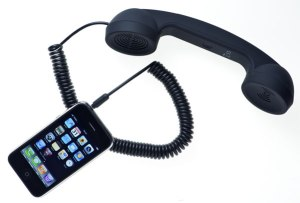 Old Fashioned Phone Handset iPhone