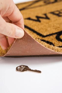 Key Under Doormat