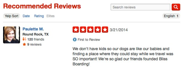 Yelp-Review-Paulette