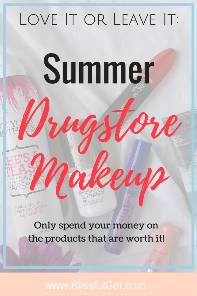 June 2016 Drugstore Makeup Review- This past month I tried out a decent amount of drugstore beauty products and wanted to share what I thought! There are so many wonderful products from the drugstore that I think need to be talked about, so I'm sharing what I love and don't love!