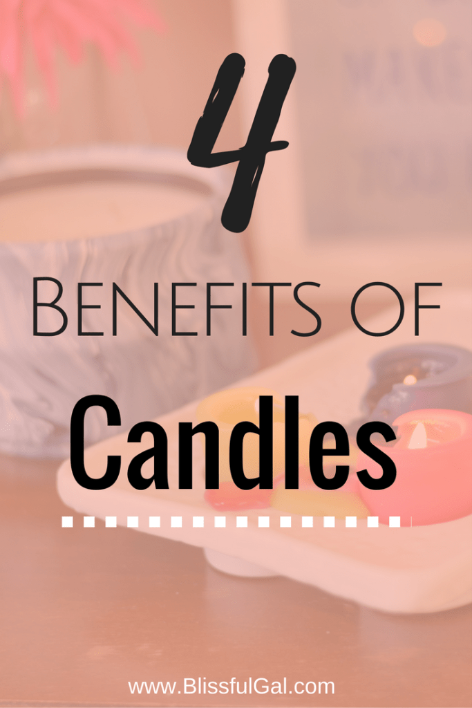 4 Benefits of Candles - Candles are so much more beneficial than just using them as decoration! From helping you be productive to relaxing, candles and scents are a wonderful part of life.