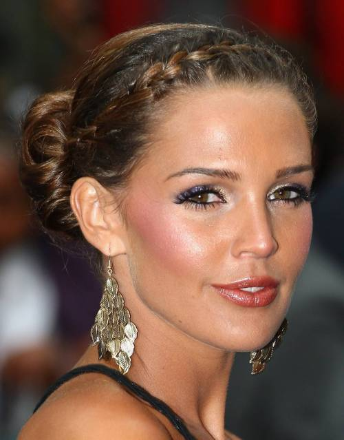 American French Braid Updo Hairstyles 2016 | 123 Hairstyles 2016