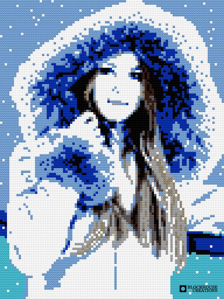 100 Days of Mosaics – Day 14 – Fur Coat