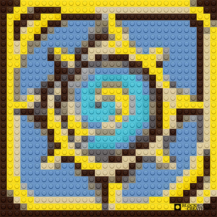100 Days of Mosaics – Day 15 – Hearthstone Logo