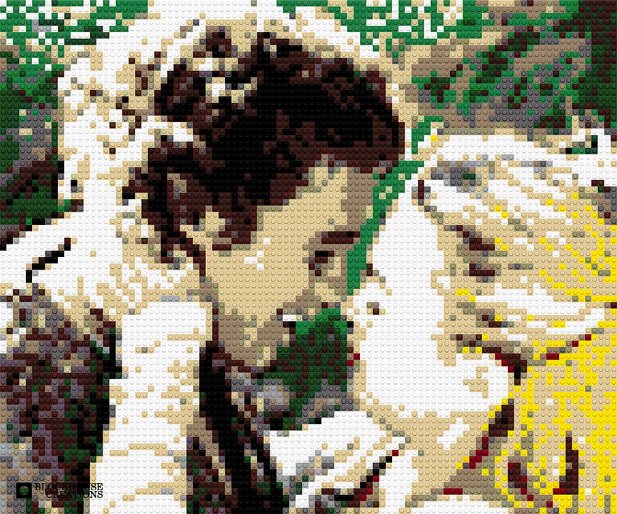 100 Days of Mosaics – Day 25 – Tristan and Isolde
