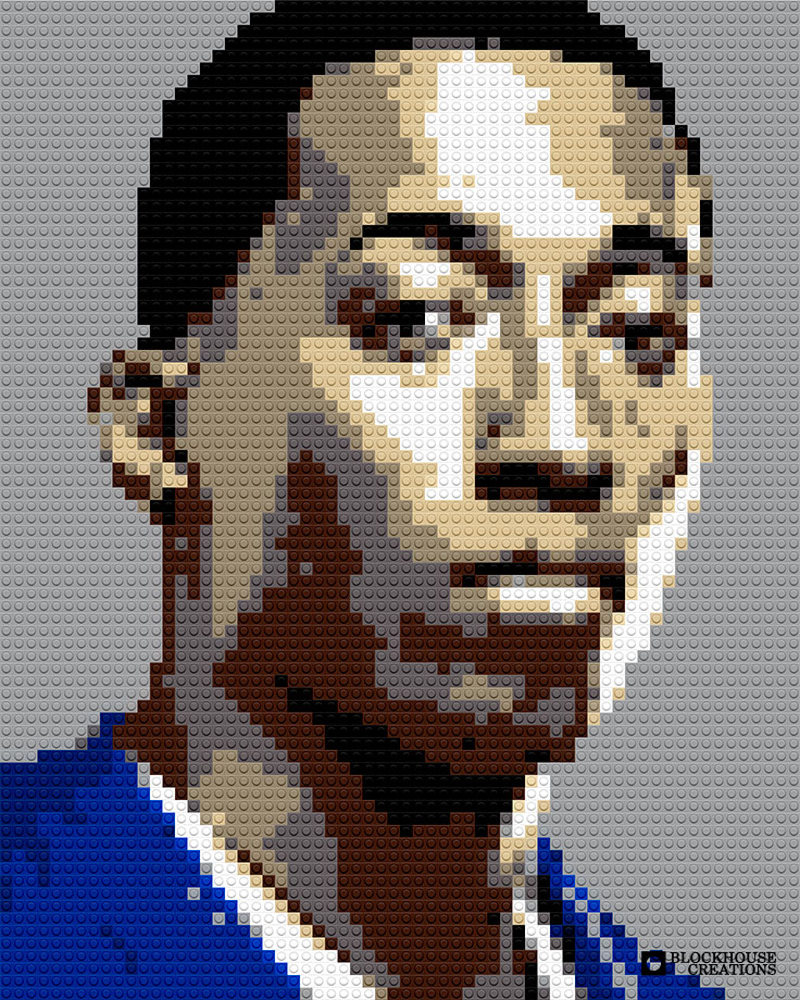 100 Days of Mosaics – Day 28 – Lecrae