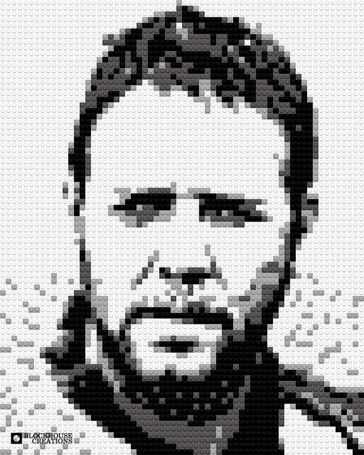 100 Days of Mosaics – Day 31 – Russell Crowe