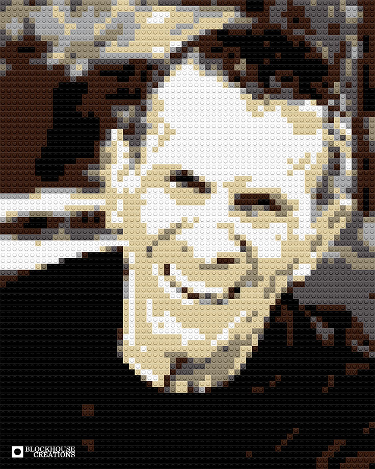 100 Days of Mosaics – Day 40 – Leonard Nimoy
