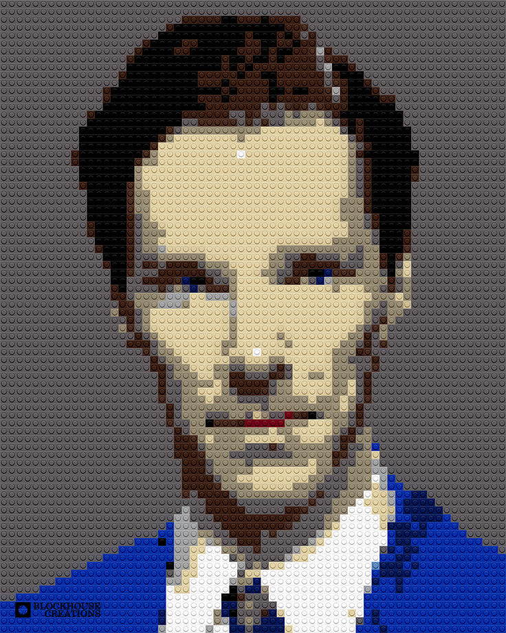 100 Days of Mosaics – Day 46 – Benedict Cumberbatch