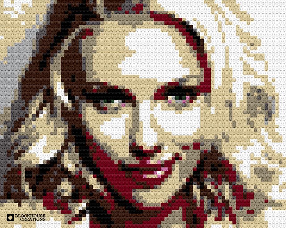 100 Days of Mosaics – Day 55 – Scarlett Johansson