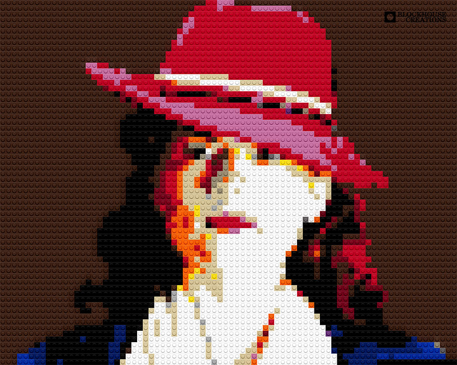 100 Days of Mosaics – Day 61 – Hayley Atwell