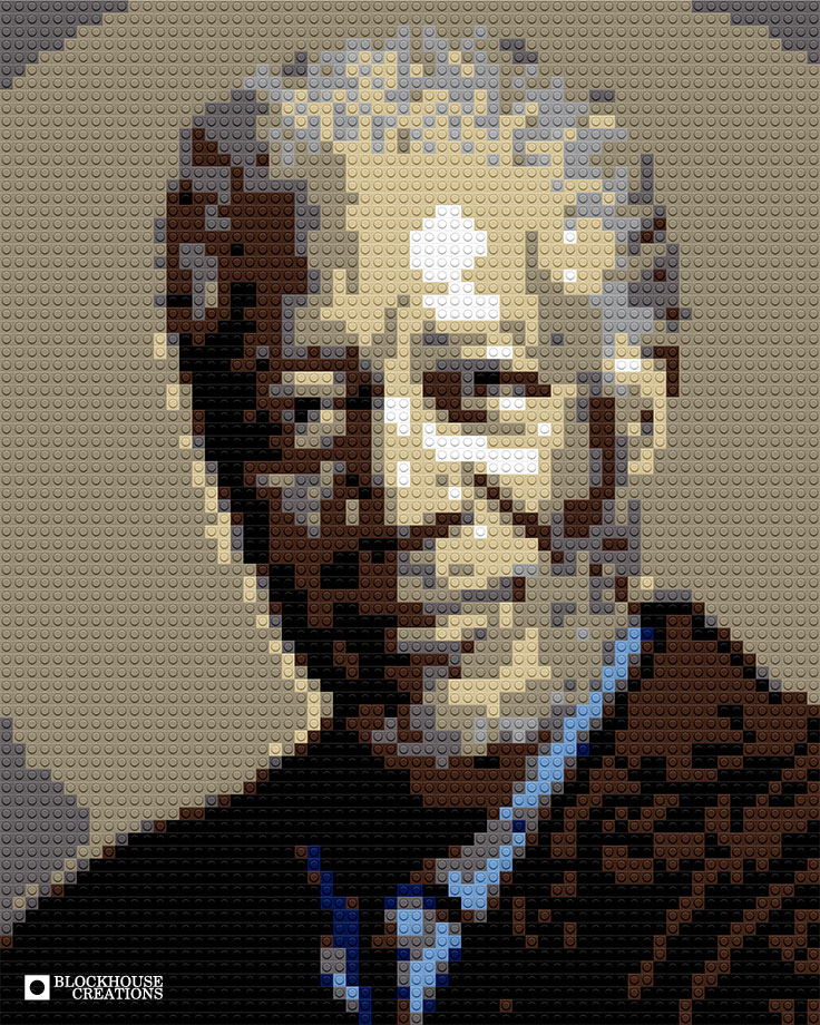 100 Days of Mosaics – Day 78 – Morgan Freeman