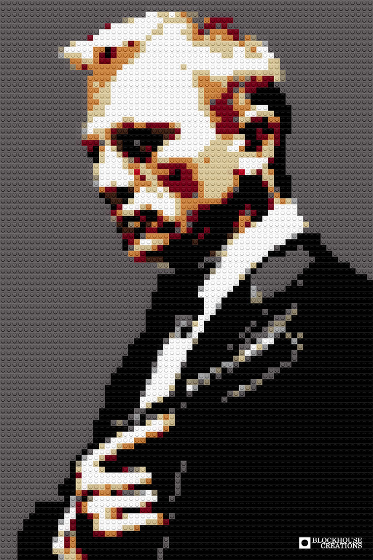 100 Days of Mosaics – Day 90 – Daniel Craig