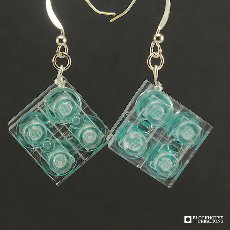 Ice Cube Drop Earrings