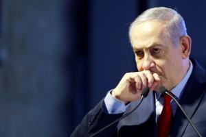 Primeiro-ministro de Israel, Benjamin Netanyahu, durante cerimônia em Ashkelon 20/02/2018 REUTERS/Amir Cohen