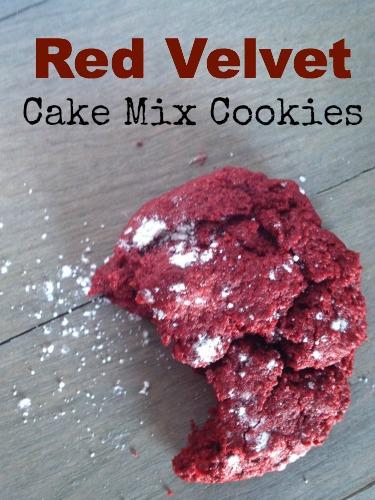 Paleo Cake Mix Cookies V