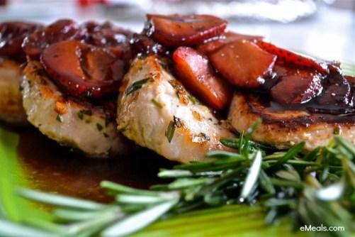 Strawberry Pork Chops