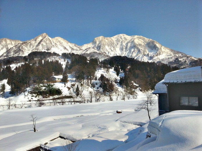 Mt. Hokogatake in Winter