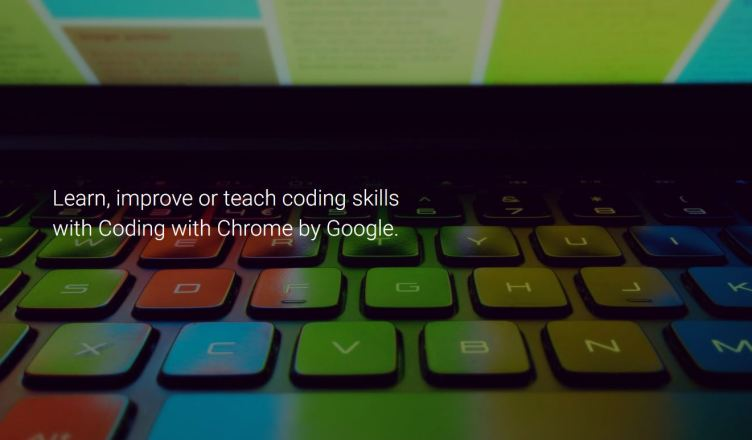 Google lance Coding with Chrome pour apprendre à coder