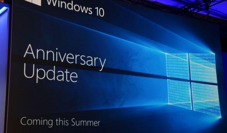 La mise à jour anniversaire de Windows 10 arrive cet été