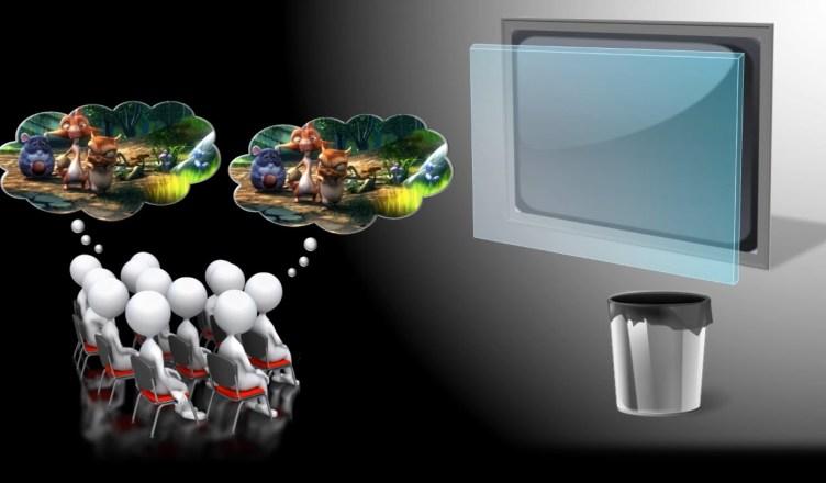 Plus besoin de lunettes 3D dans les salles de cinéma, le MIT met en place un système de projection dédié.