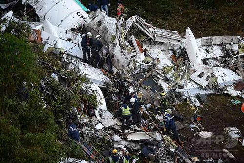 悪夢墜落前の機内…ブラジル選手が動画撮影 「もうすぐコロンビアに着きます」