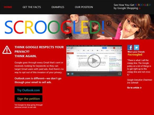 Microsoft「お前ら、Gmailにだけは騙されるなよ?」