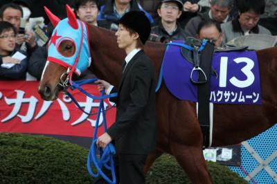 【競馬】 ハクサンムーン、堂々の逃げ宣言 → 出遅れて後方4番手…  【高松宮記念】