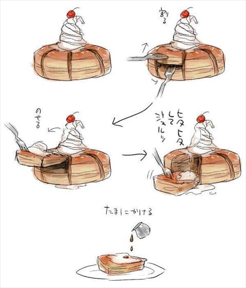 コメダ珈琲のシロノワールの正しい食べ方wwwwwww