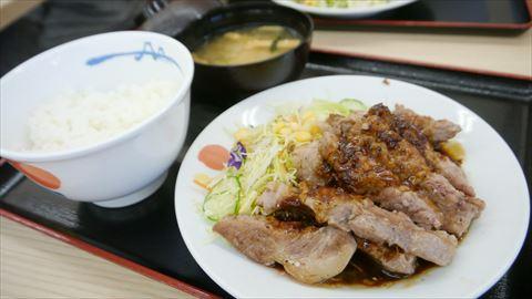 松屋のトンテキ定食wwww