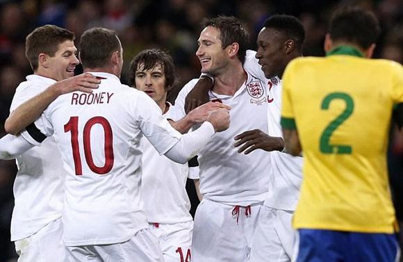 【サッカー】イングランドが23年ぶりにブラジルに勝利する快挙(動画)