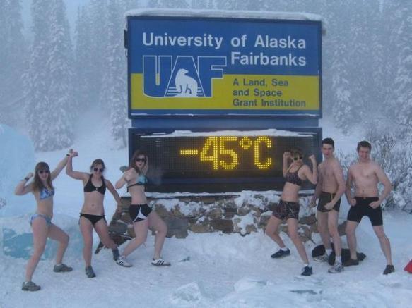 【画像】アラスカの気温が下がりまくった結果wwwwwwwwww