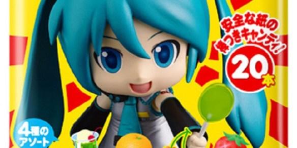 【コラボ】タベロヨー? 『ミクダヨー』と不二家ポップキャンディがコラボを発表!