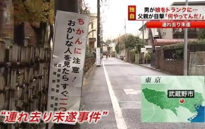周到な監禁準備 … 東京・武蔵野市の小学生女児誘拐未遂事件、逮捕された橋本明容疑者(46)「連れ去った後に監禁するため、板で仕切った小屋を作った」などと供述
