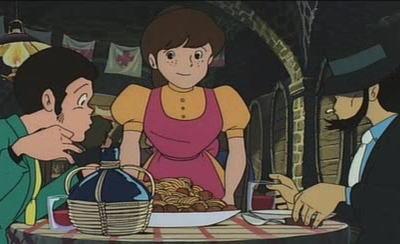 """『カリオストロの城』でルパンと次元が食べたスパゲティーが食べられる … """"アニメ作品内のごはん""""を再現する「アニ飯屋」始動"""
