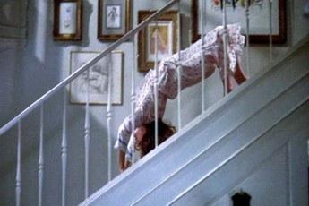 階段から落ちかけるが助かった。しかし彼氏が階段踏み外して転落していた