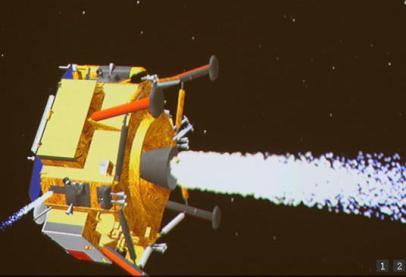 中国が打ち上げた無人探査機「嫦娥3号」、月への軟着陸に成功 … 将来的な月の資源獲得を視野に (動画あり)