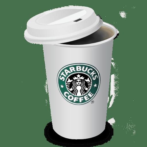 スタバのコーヒーの蓋を取って飲んでたら説教された