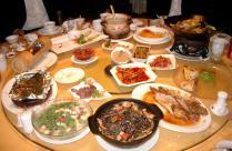中華料理「油ドババババッ」