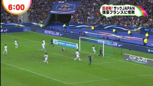サッカー日本代表、国際親善試合1―0で仏に初勝利 そしてフジがやらかす