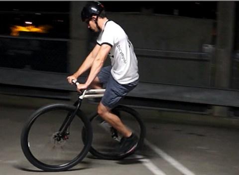 【動画あり】 新しいタイプの自転車「バイシンプル」 画期的かつシンプルなデザインだと話題に