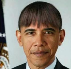 【悲報】 オバマがイメチェン…(´・ω・`)