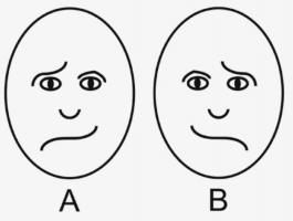 【幽霊は脳で見る】この画像のどちらが楽しそうに見えるかで幽霊を見やすい人か判別できる