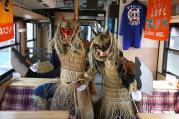 三陸鉄道、こたつ&ミカンが楽しめる「こたつ列車」が2年ぶりに復活