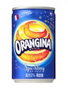 「オランジーナ」160ml缶 新発売
