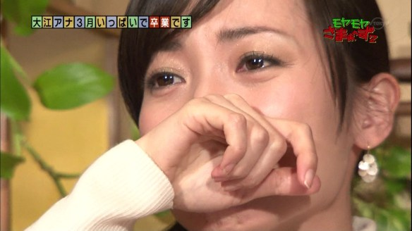 テレ東・大江麻理子アナ、「モヤさま」卒業で涙 さまぁ~ず三村「俺も泣きそう」