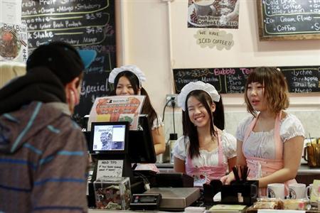 マンハッタンに東海岸初のメイドカフェがオープン これは・・・