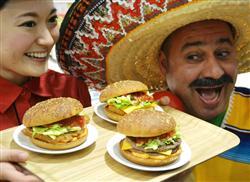 マクドナルド、メキシコ風「サルサバーガー」3種類を23日投入